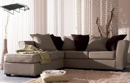 deco salon avec canape d 39 angle. Black Bedroom Furniture Sets. Home Design Ideas