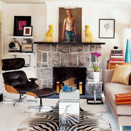 Deco salon avec cheminee for Salon avec cheminee