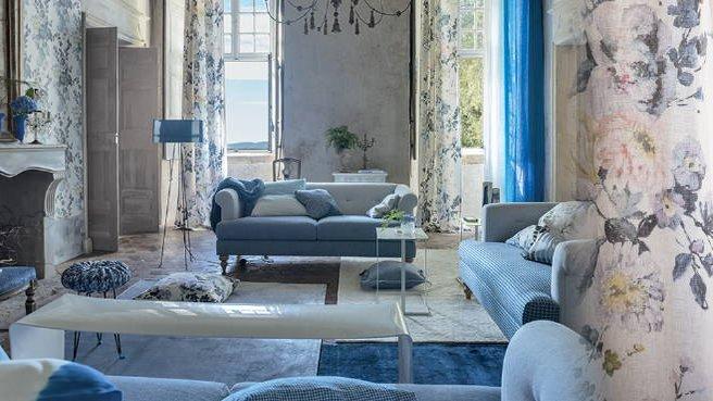 Beautiful Decoration Salon Bleu Et Beige 2 Ideas - House Design ...