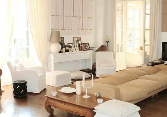 deco salon chic. Black Bedroom Furniture Sets. Home Design Ideas