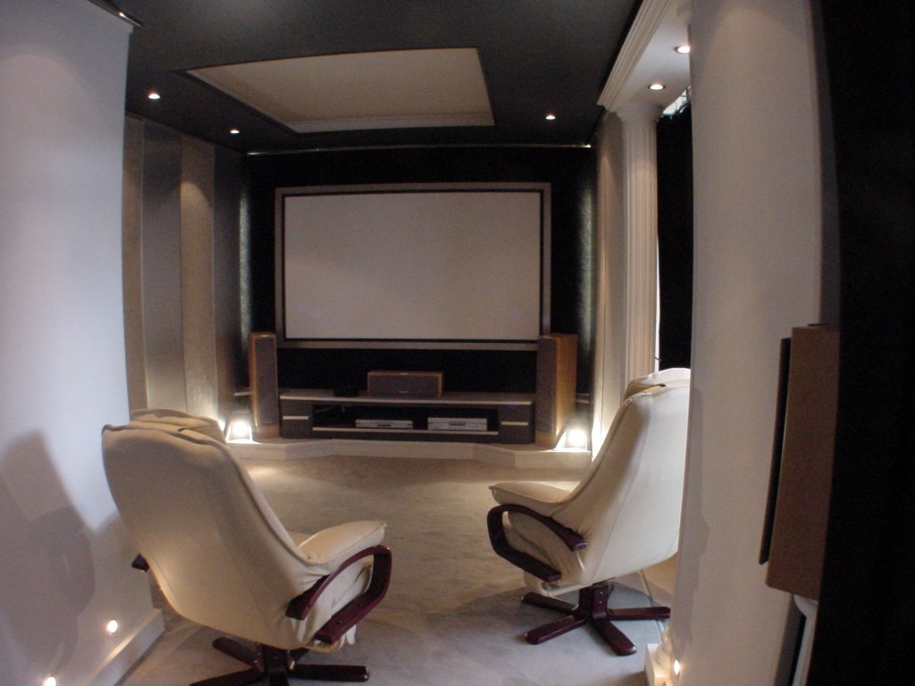 d coration salon home cinema. Black Bedroom Furniture Sets. Home Design Ideas