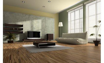 deco salon parquet. Black Bedroom Furniture Sets. Home Design Ideas