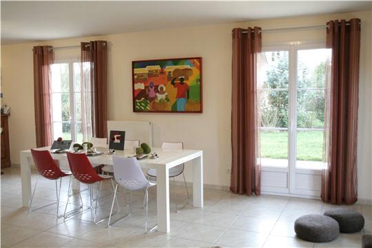 Deco salon salle a manger couleurs - Couleur pour salon salle a manger ...