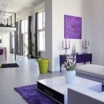 deco salon violet