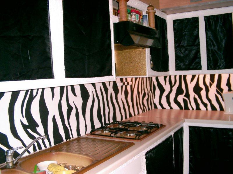 Decoration Murale Zebre : Objet deco zebre