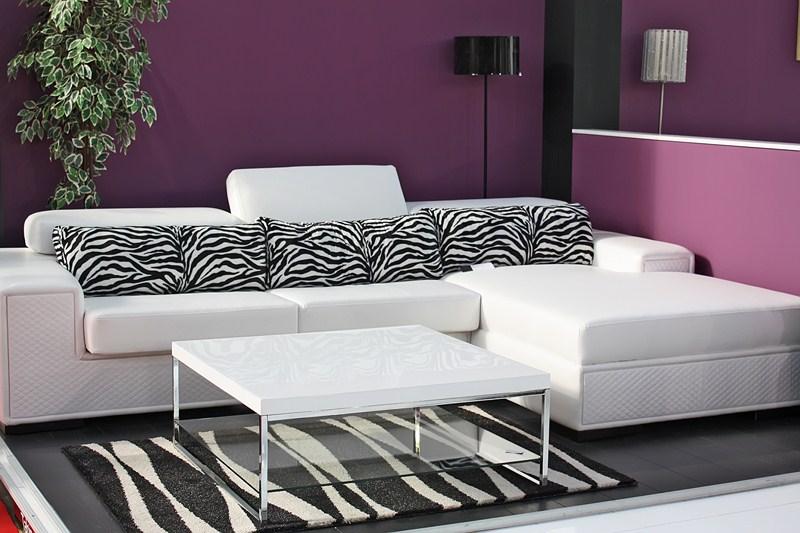 Salon Violet Et Blanc. Top Palette De Couleur Salon Moderne Froide