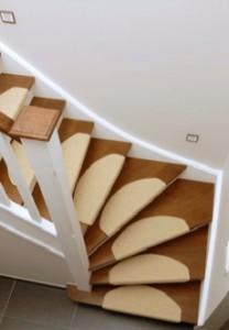 Deco tapis escalier - Tapis de marche d escalier demi lune ...