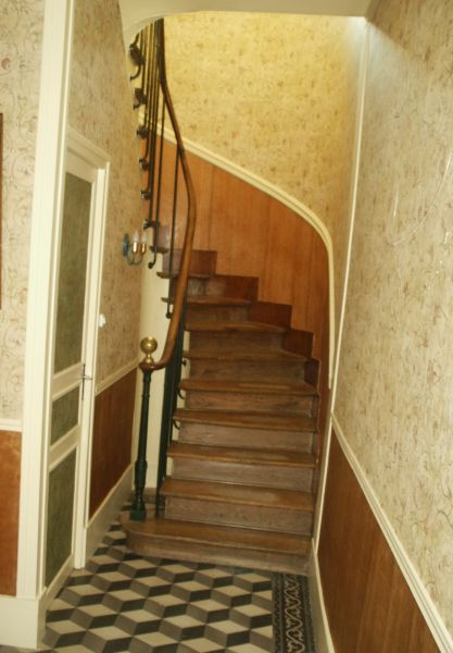 Decoration cage escalier bois for Decoration escalier bois