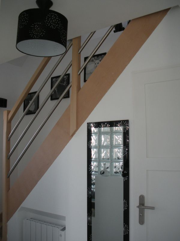 Best idee deco couloir avec escalier images amazing for Decoration des escaliers