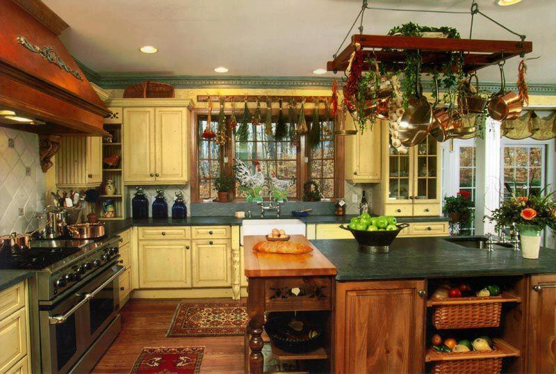 belle decoration cuisine a l\'ancienne