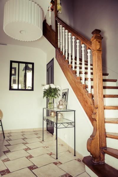 Stunning Deco Entree Avec Escalier Contemporary - House Design ...