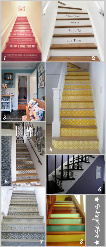 Jolie decoration entree avec escalier - Photo Déco