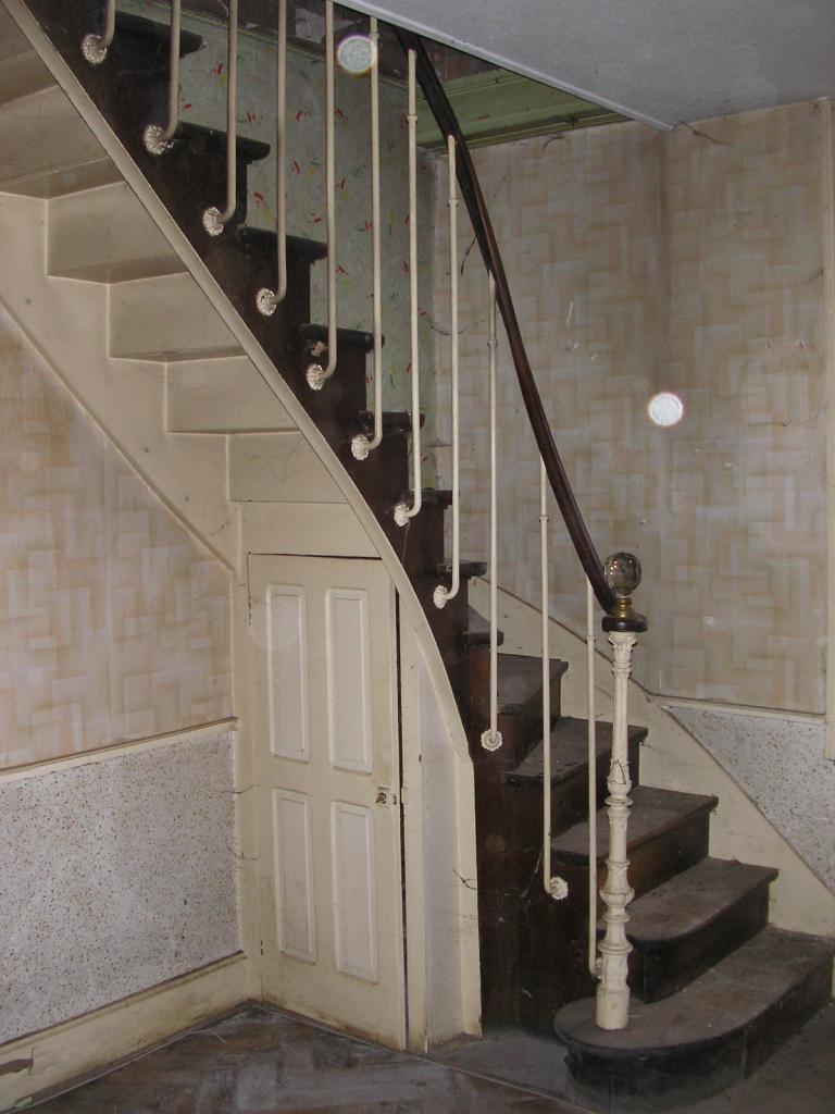 decoration escalier ancien