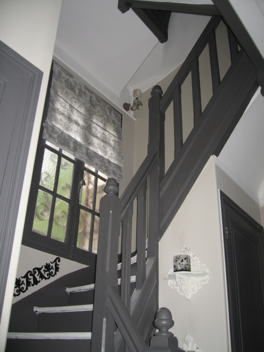 Exemple decoration escalier couloir for Decoration des escaliers