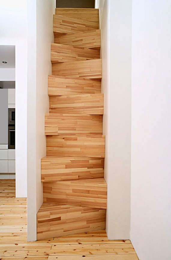 decoration escalier en bois. Black Bedroom Furniture Sets. Home Design Ideas