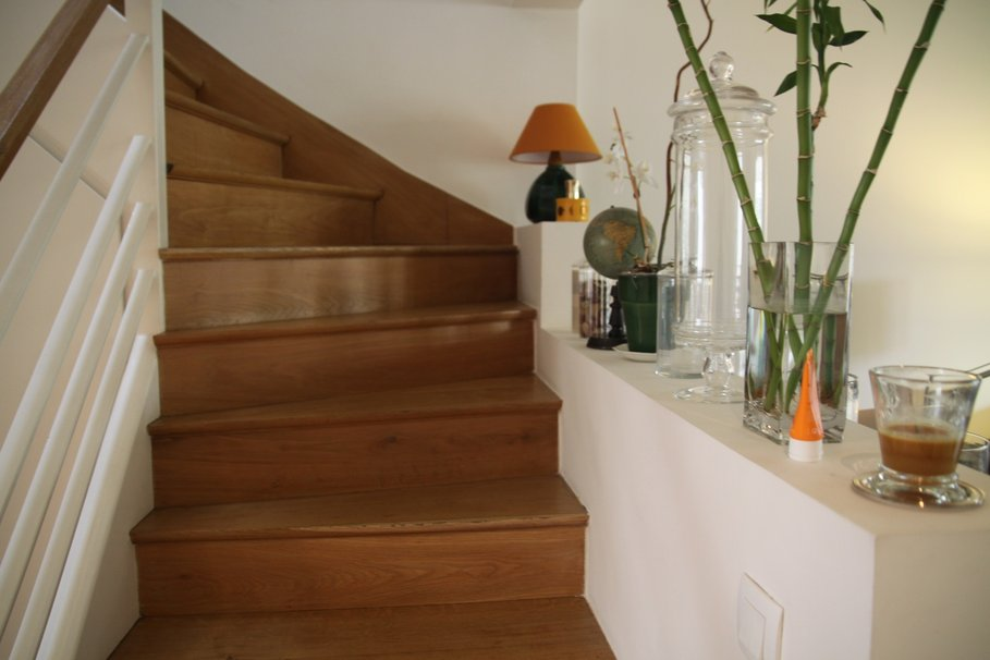 Photo decoration escalier interieur maison