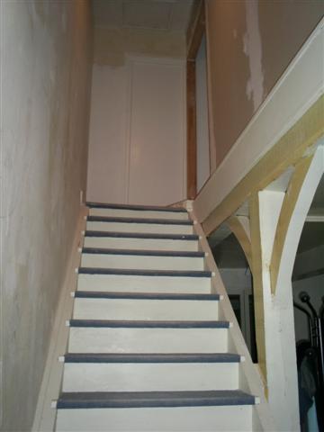 Decoration escalier interieur peinture for Deco cage escalier interieur