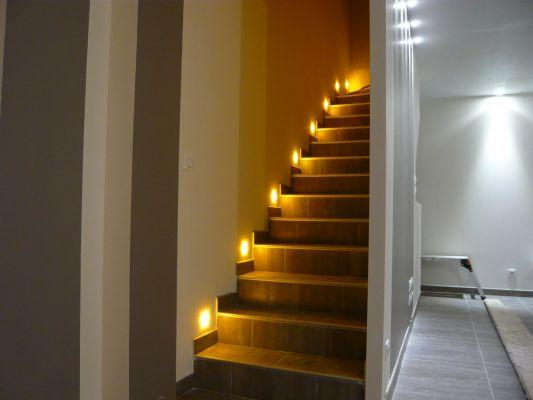 decoration escalier led. Black Bedroom Furniture Sets. Home Design Ideas