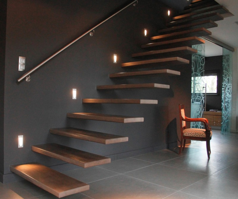 eclairage d escalier finest escalier clairage led with. Black Bedroom Furniture Sets. Home Design Ideas