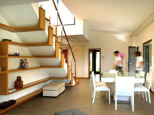 Belle Decoration Escalier Rangement