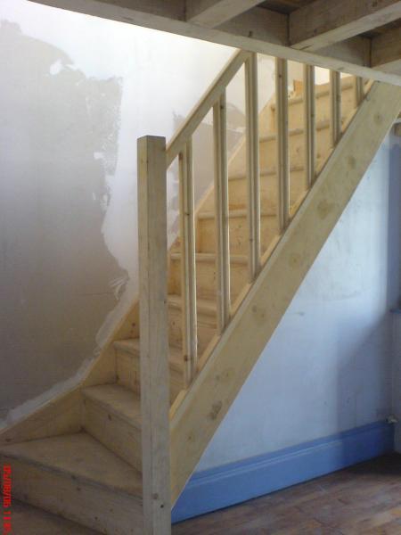 Deco escalier bois photos - Decoration escalier bois ...