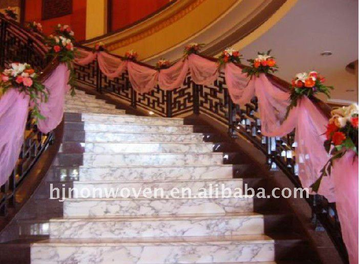 decoration rampe escalier mariage. Black Bedroom Furniture Sets. Home Design Ideas