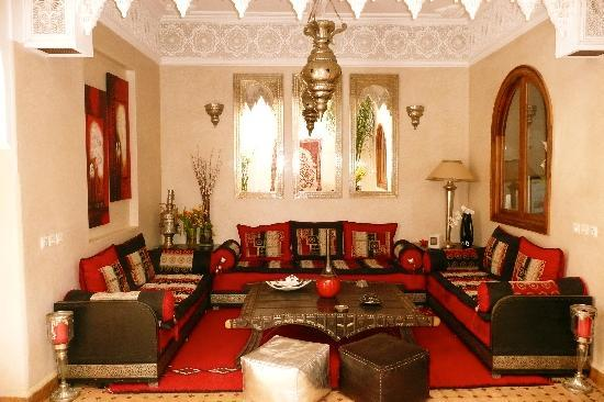 Salon Style Oriental : Decoration salon arabe
