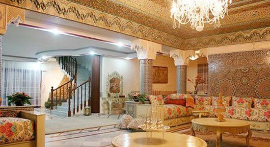 aménagement decoration salon arabe - Photo Déco