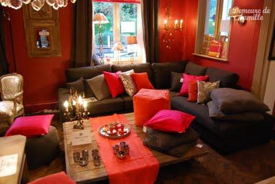 decoration salon arabe. Black Bedroom Furniture Sets. Home Design Ideas