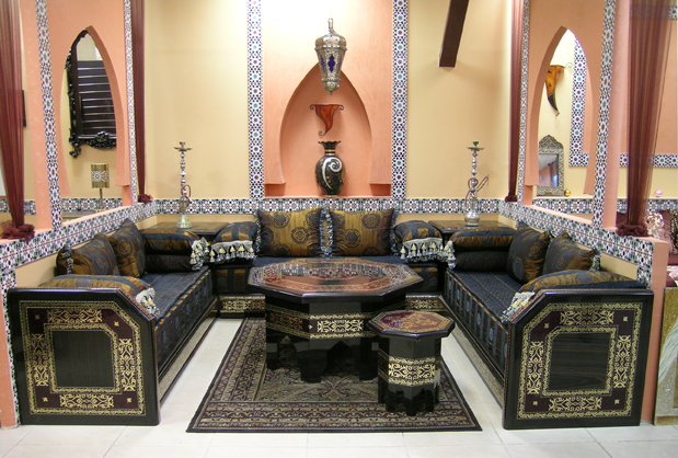 Photo decoration salon arabe