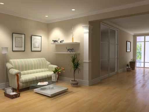 decoration salon avec parquet. Black Bedroom Furniture Sets. Home Design Ideas