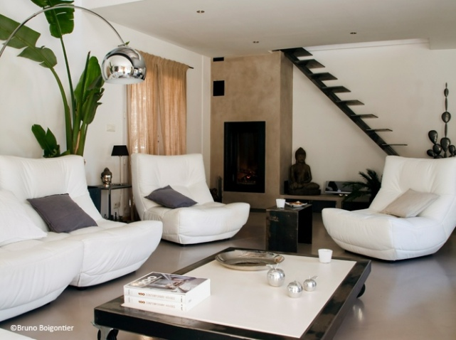 Photo decoration salon design