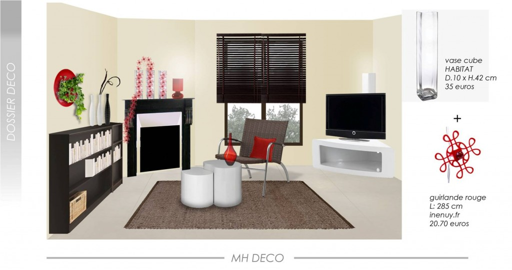 decoration salon pour petit appartement