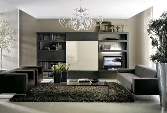 exemple decoration salon pour petit appartement - photo déco