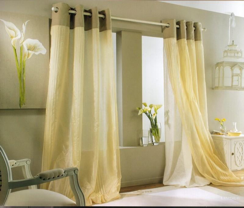 rideau decoration. Black Bedroom Furniture Sets. Home Design Ideas