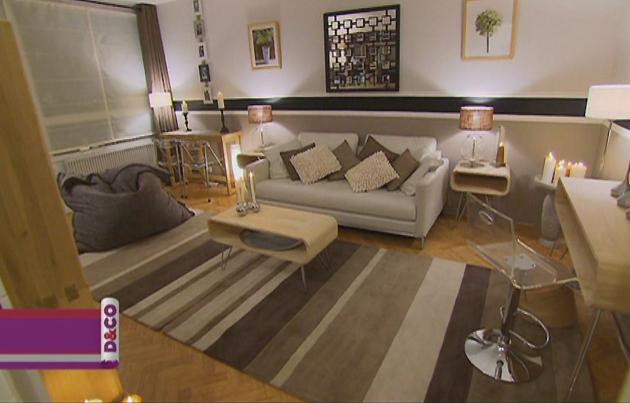 decoration salon style nordique. Black Bedroom Furniture Sets. Home Design Ideas
