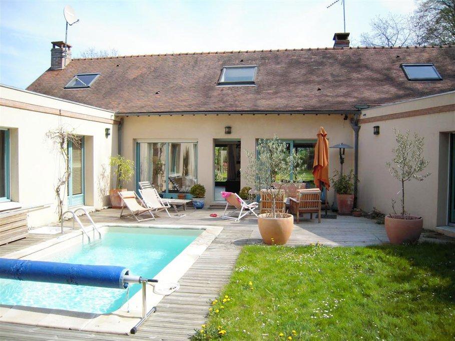 Stunning Idee Jardin Avec Piscine Pictures  Amazing House Design