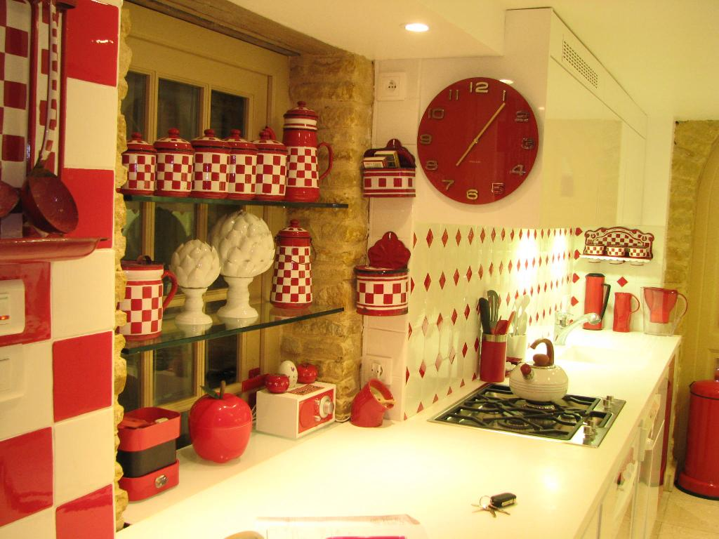 Decoration cuisine retro for Faience cuisine