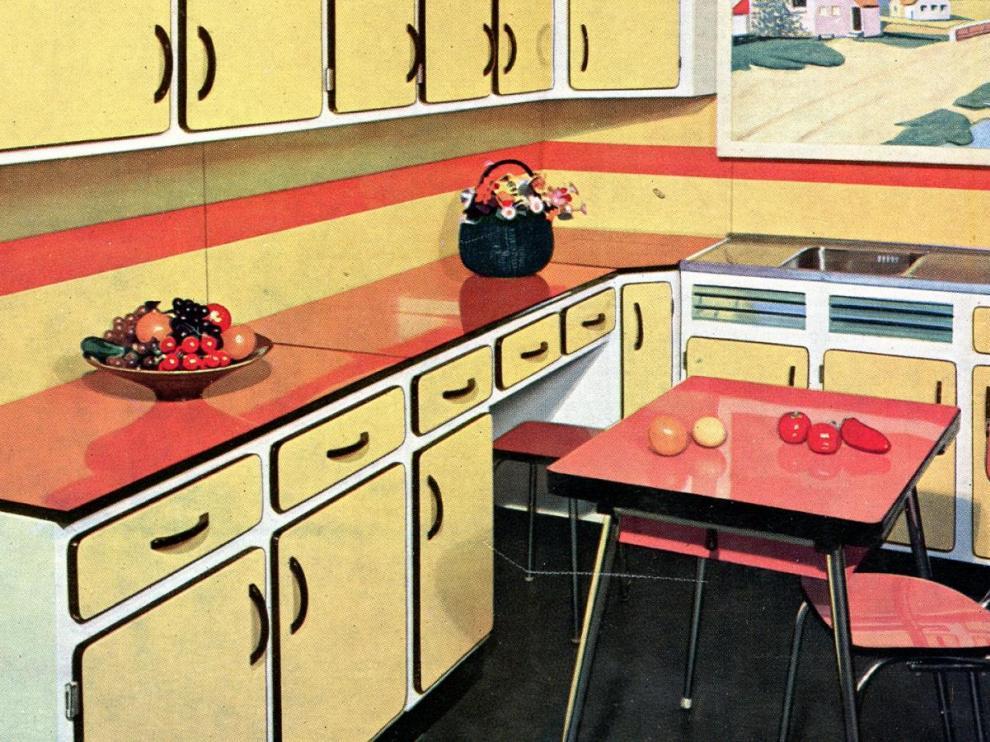 decoration cuisine formica