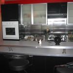 cuisine ikea noir laque