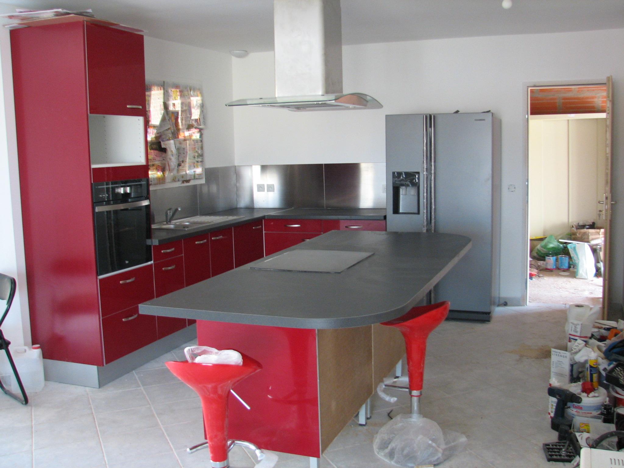 Photo Cuisine Noir Laque Brico Depot - Meuble cuisine brico depot pour idees de deco de cuisine