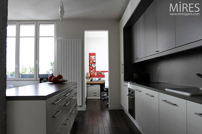 Parquet dans une cuisine finest quelle pose privilgier with parquet dans une cuisine latest - Parquet dans cuisine ...