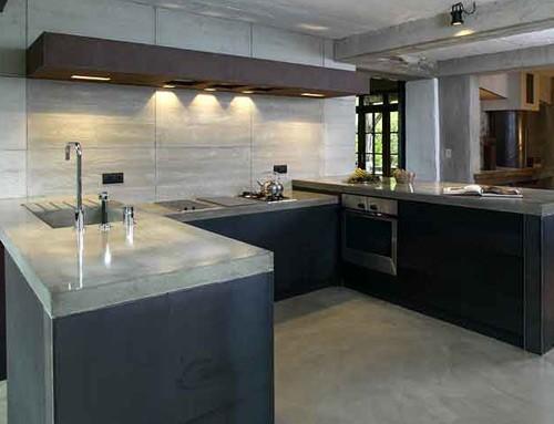 cuisine gris et noir top idee deco cuisine blanc et gris with cuisine gris et noir interesting. Black Bedroom Furniture Sets. Home Design Ideas