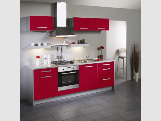 Amenagement Cuisine Rouge Design De Maison