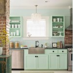 cuisine vert celadon