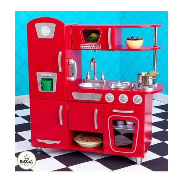Cuisine cuisine rouge vintage 1000 id es sur la for Cuisine retro rouge