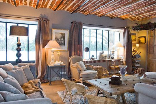 décoration intérieure maison de campagne