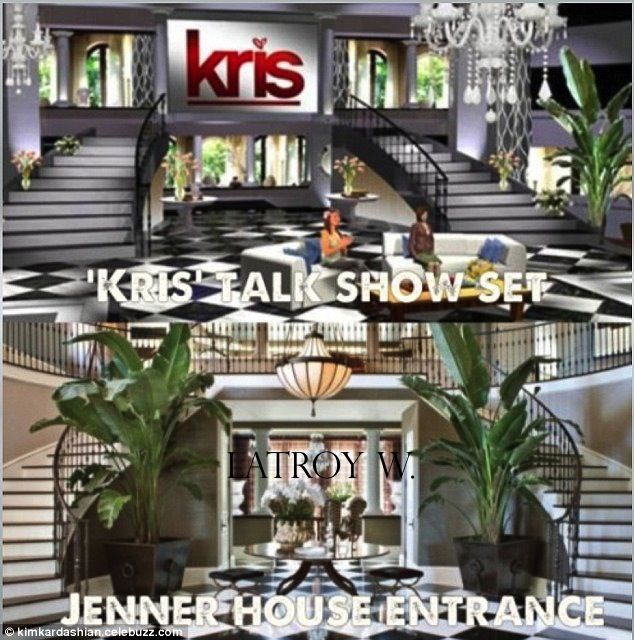 D coration maison kris jenner for Decoration maison kris jenner