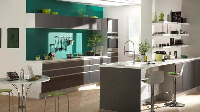 Deco cuisine en longueur for Deco de cuisine en longueur