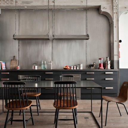 Deco cuisine style industriel - Deco industrielle chic ...